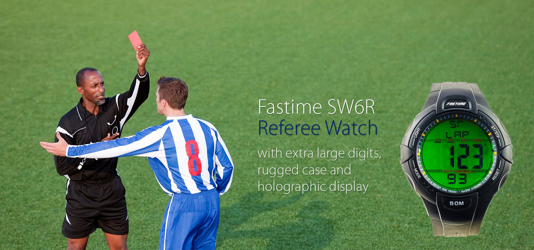 Fastime SW6R - Referee watch